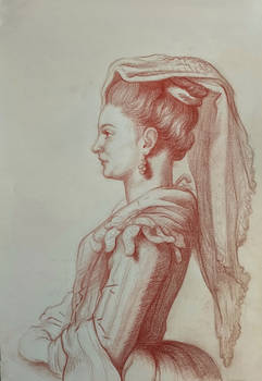 Recreation of A Young Woman of Frascati