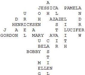 Supernatural Crossword by JL-Miller