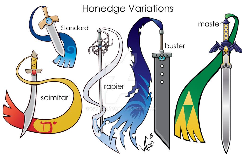 Honedge evolution