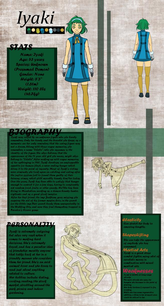 Iyaki Reference Sheet by superkun