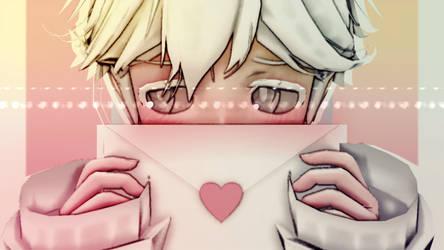 [MMD|Baldi's Basics] Love Letter by AuliaDex