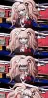 Junko Enoshima Gagged sequence