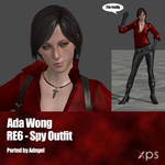 Ada Wong RE6 Spy Outfit