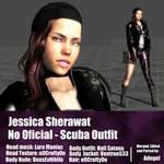 Jessica Sherawat FanMod Scuba Outfit