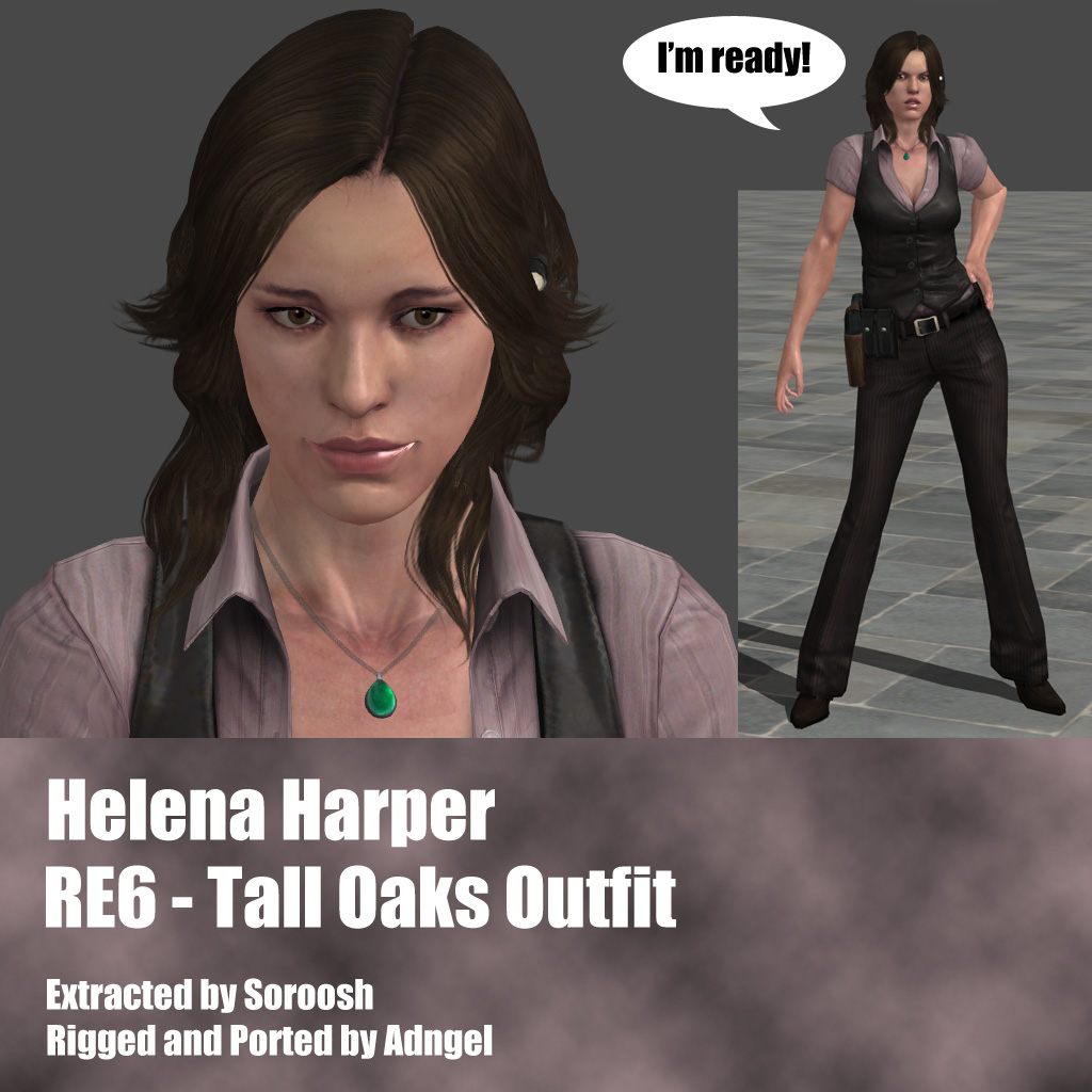 Helena Harper RE6 Tall Oaks Outfit by Adngel