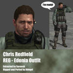 Chris Redfield RE6 Edonia Outfit