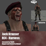 Jack Krauser RE4 Harness Outfit