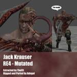 Jack Krauser RE4 Mutated Arm