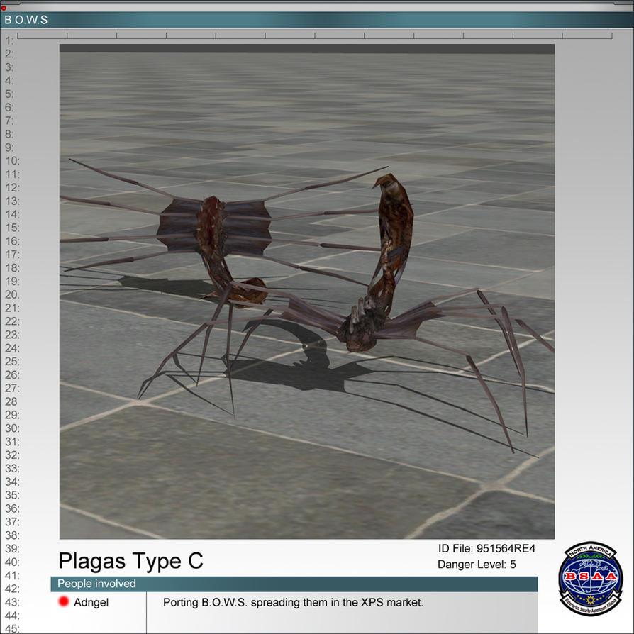 Las Plagas RE4 Type C by Adngel on DeviantArt