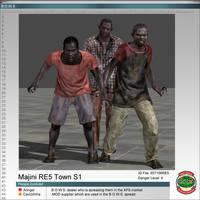 Majinis RE5 Town Skin 1 by Adngel