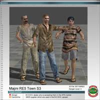Majinis RE5 Town Skin3 by Adngel