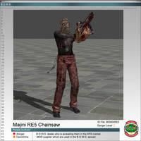 Majini RE5 Chainsaw
