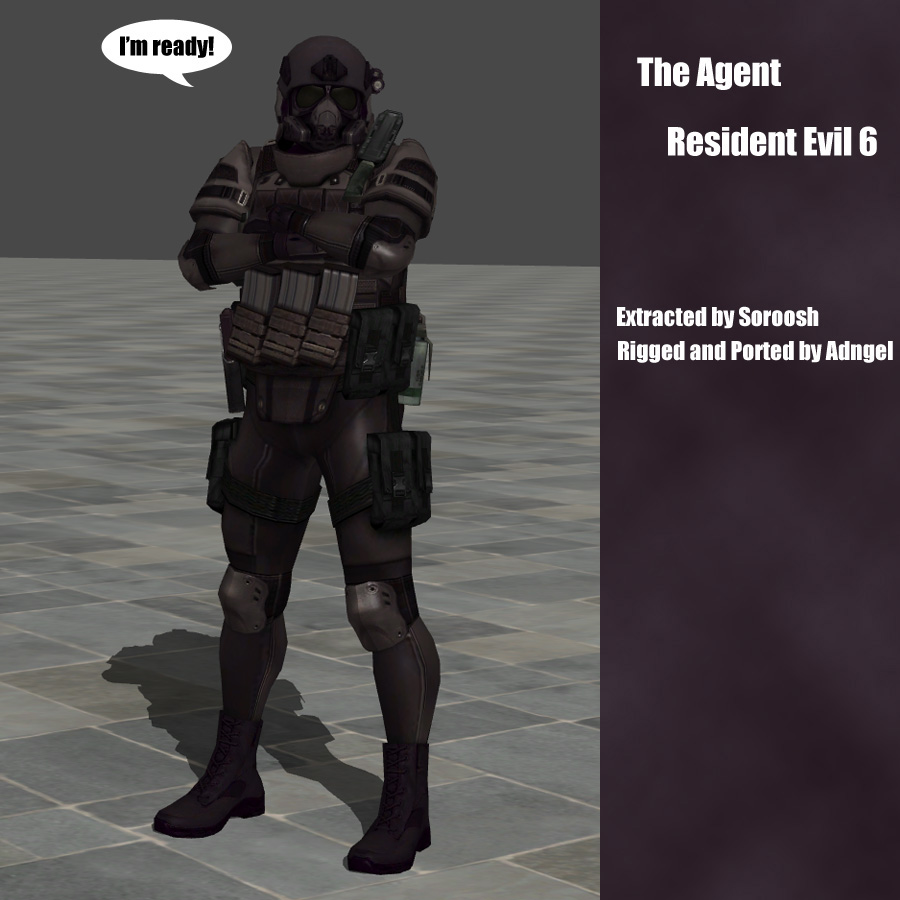 The Agent RE6 by Adngel