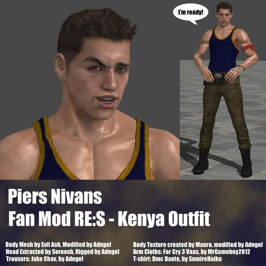 Piers Nivans Fan Mod RES Kenya Outfit by Adngel