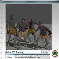 Majinis RE5 Natives