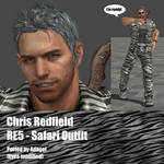 Chris Redfield RE5 Safari Outfit