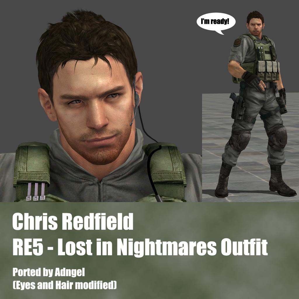 Chris Redfield RE5 Lost in Nightmares
