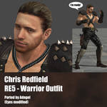 Chris Redfield RE5 Warrior Outfit