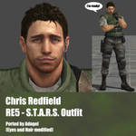 Chris Redfield RE5 S.T.A.R.S. Outfit