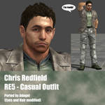Chris Redfield RE5 Casual Outfit