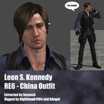 Leon S. Kennedy RE6 China Outfit