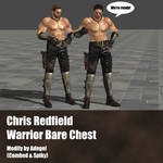 Chris Redfield Warrior Bare Chest