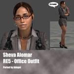 Sheva Alomar RE5 Office Outfir