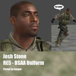 Josh Stone RE5 BSAA Uniform