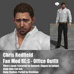 Chris Redfield RES Office outfit