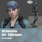 Jill Valentine RE5 BSAA Agent