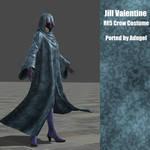 Jill Valentine RE5 Crow Costume