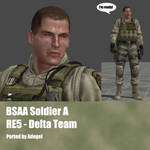 BSAA Soldier A RE5 Delta Team