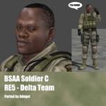 BSAA Soldier C RE5 Delta Team