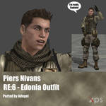 Piers Nivans RE6 Edonia Outfit