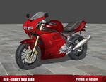 RE6 Jake's Red Bike