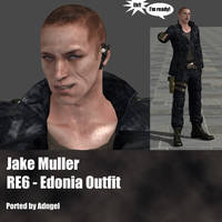 Jake Muller RE6 Edonia Outfit by Adngel