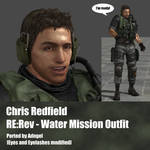 Chris Redfield RE:Rev Water Mission Outfit