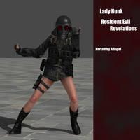 Lady Hunk RE:Rev by Adngel