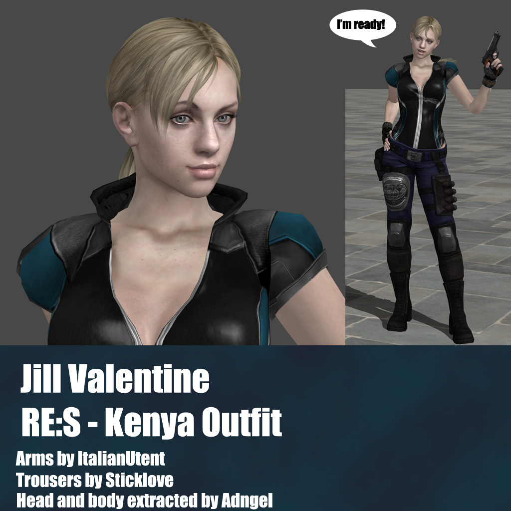 Resident Evil on Xnalara-Customized - DeviantArt