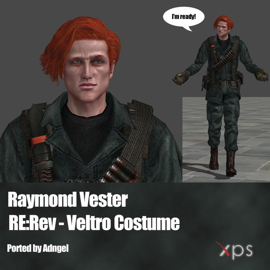 Raymond Vester RE:Rev Veltro Costume by Adngel
