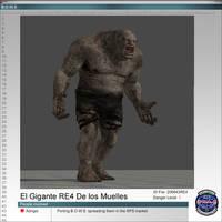 El Gigante RE4 De los Muelles by Adngel