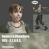 Rebecca Chambers RE5 STARS by Adngel