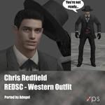 Chris Redfield RE DSC Western Outfit