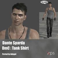 Dante Sparda DmC: Tank Shirt by Adngel