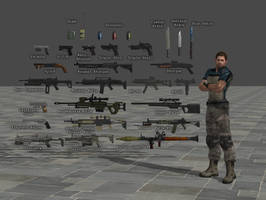 Weapon Pack RE6