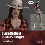 Claire Redfield RE:Rev2 Cowgirl