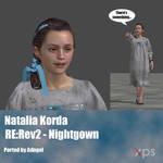 Natalia Korda RE:Rev2 Nightgown.
