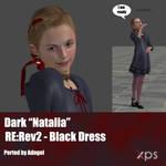 Dark Natalia RE:Rev2 Black Dress