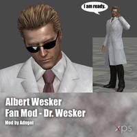 Albert Wesker FanMod Dr Wesker by Adngel