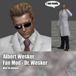 Albert Wesker FanMod Dr Wesker